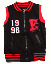 Sizes 7-16 - Big Kids - VARSITY BOMBER VEST (7-16)