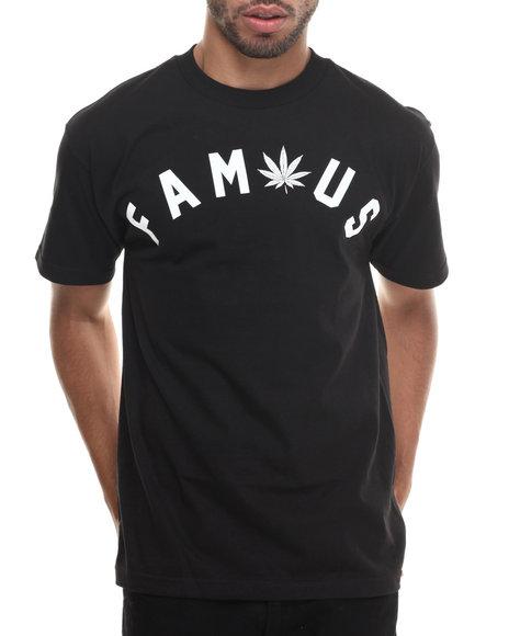 Famous Stars & Straps - Men Black Get Lit Tee - $15.99