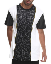 Buyers Picks - Marble Mesh Overlay S/S tee