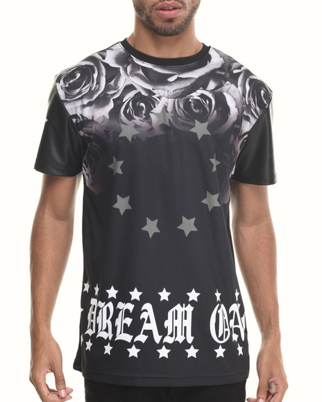 Buyers Picks - Men Black Dream On S/S Tee