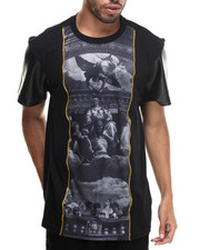 Shirts - Gods Be Chillin Sublimation/faux leather S/S Tee