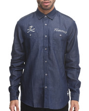 Men - Wrench Denim Chambray Woven Shirt