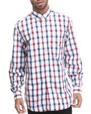 Nautica - Vineyard Poplin L/S Button-Down