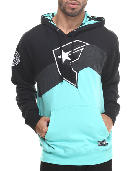 Famous Stars & Straps - Men Black Mound Pullover Hoodie - $60.00