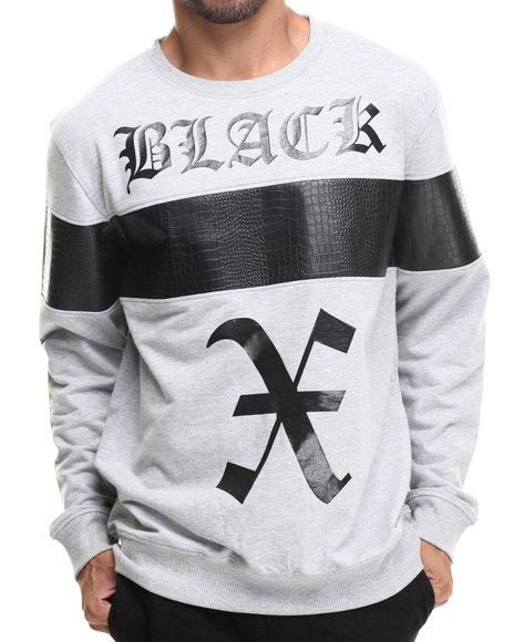 Buyers Picks - Men Grey Athletic Crewneck Sweatshirt - $45.00