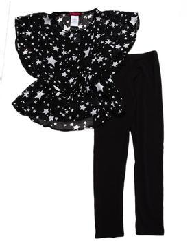 Dollhouse - STARS CHIFFON TUNIC & LEGGINGS SET (7-16)