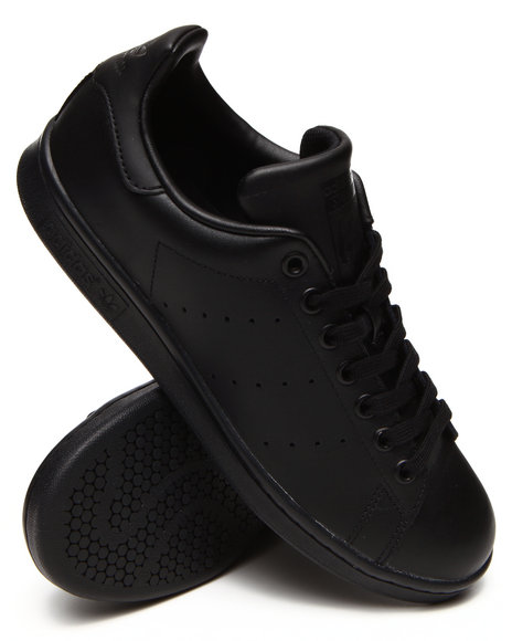 Adidas - Men Black Stan Smith Sneakers