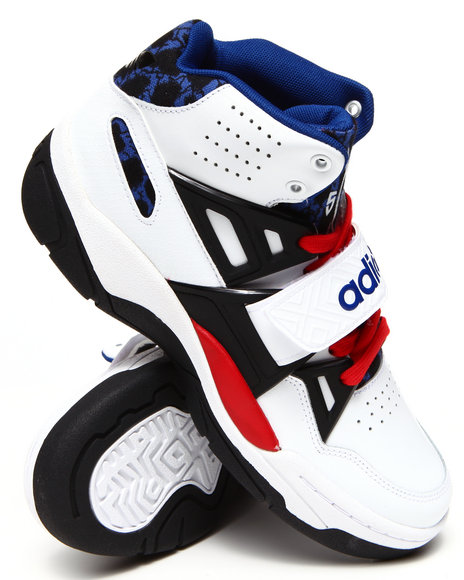 Adidas - Men Black,Red,White Mutombo Tr Block Sneakers - $74.99