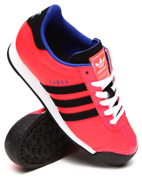 Adidas - Women Red Samoa Sneakers