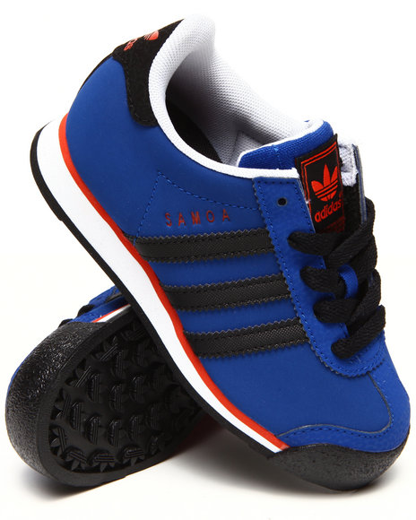 Adidas - Boys Blue New York Knicks Samoa C Sneakers (11-3)