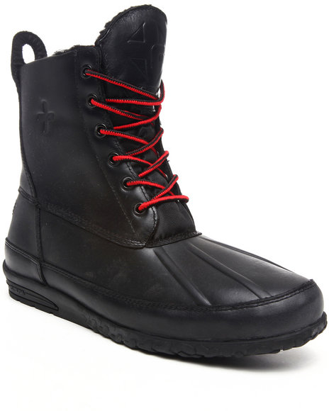Psyberia - Men Black Mudguard Boot