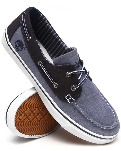 Timberland - Men Blue Earthkeepers Newmarket Boat Oxford Shoes
