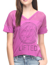 Women - Lifted Lion Jersey Tee