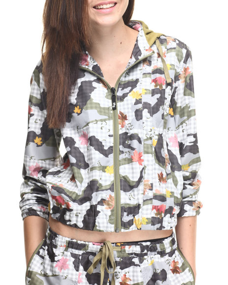 LRG - Women Grey The Brigg Camo Jacket