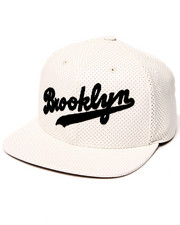 American Needle - Brooklyn Dodgers Delirious Faux Perf leather Snapback Hat