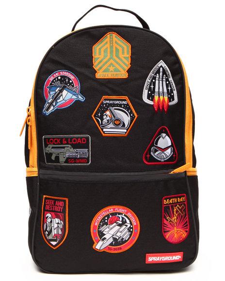 Sprayground Men Space Hunter 3M Backpack Black