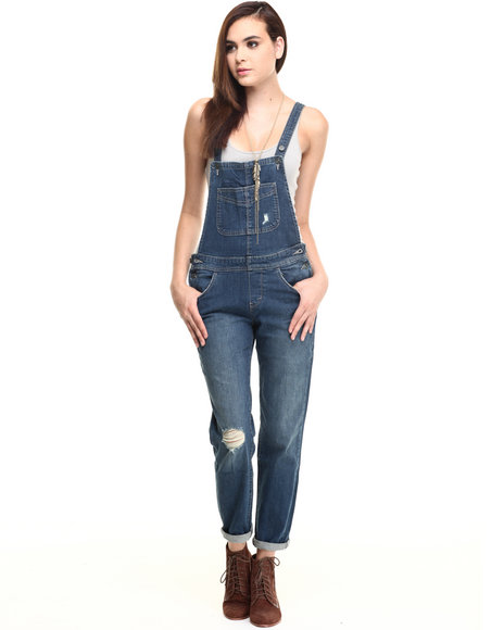 Levi's - Women Blue Authentic Overall