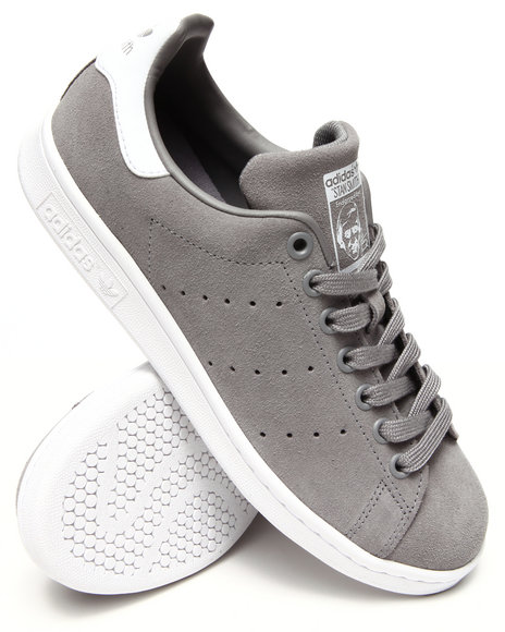 Adidas - Men Grey Stan Smith Sneakers