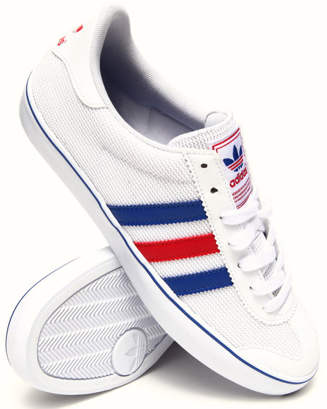 Adidas - Men White Samoa Vulc Sneakers