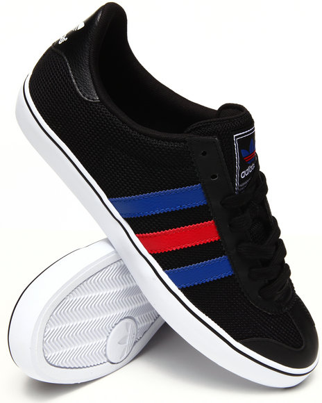 Adidas - Men Black Samoa Vulc Sneakers