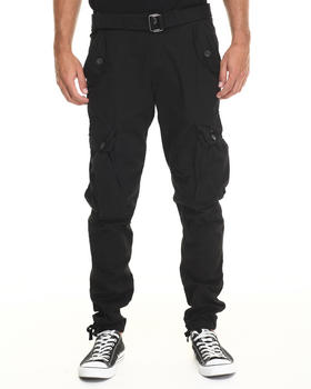 Buyers Picks - Classic Belted Slim Fit Cargo Pants