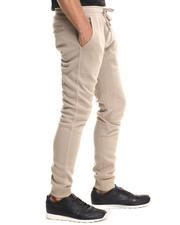 Basic Essentials - Fleece Jogger Pant w/drawstring waist