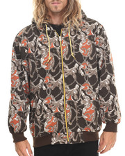 Basic Essentials - Fashion Print Fleece Hoodie
