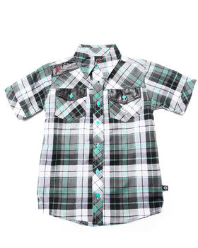 Enyce - S/S PLAID WOVEN (4-7)