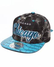 Buyers Picks - Tie Die/3D Faux Croc Strapback Hat