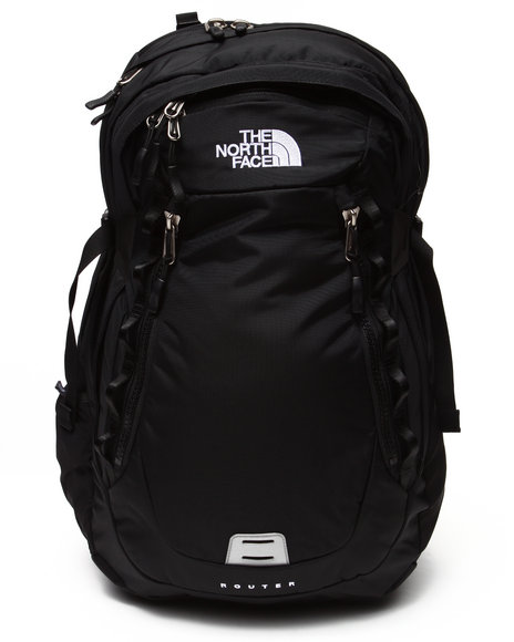 The North Face Men Router Backpack Black