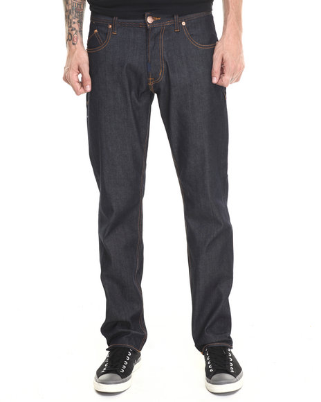 Lrg - Men Raw Wash Core True - Tapered Denim Jeans - $33.99