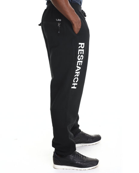 Lrg - Men Black Research Collection Sweatpants