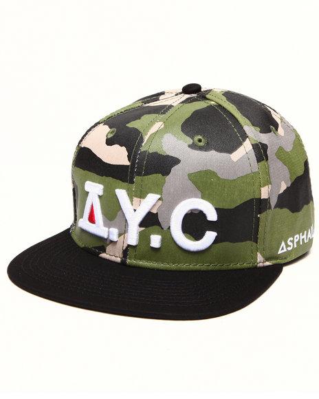 Asphalt Yacht Club Men Hunt Snapback Cap Camo - $28.99