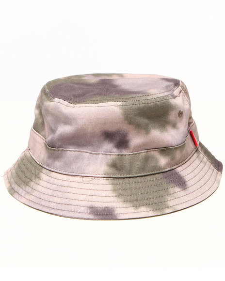 Asphalt Yacht Club Men Sky High Tie Dye Conceal Bucket Hat Camo - $16.99