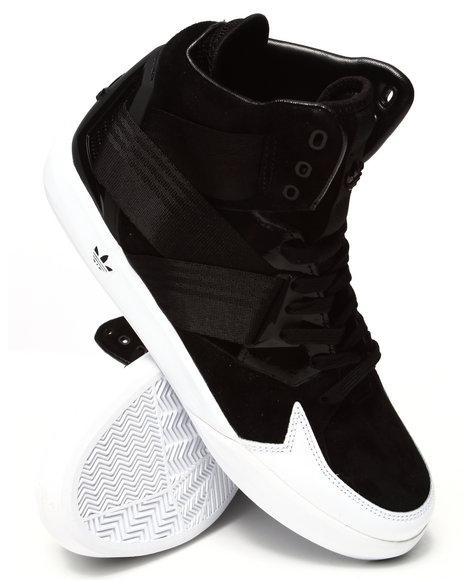 Adidas - Men Black,White C-10 Sneakers