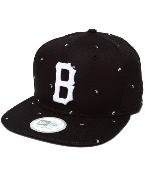 Blvck Scvle Men Paisly B Logo New Era Strapback Cap Black