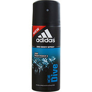 Men - ADIDAS ICE DIVE 24H DEODORANT BODY SPRAY 5 OZ (DEVELOPED WITH ATHLETES)