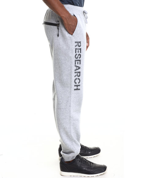 Lrg - Men Grey Research Collection Sweatpants