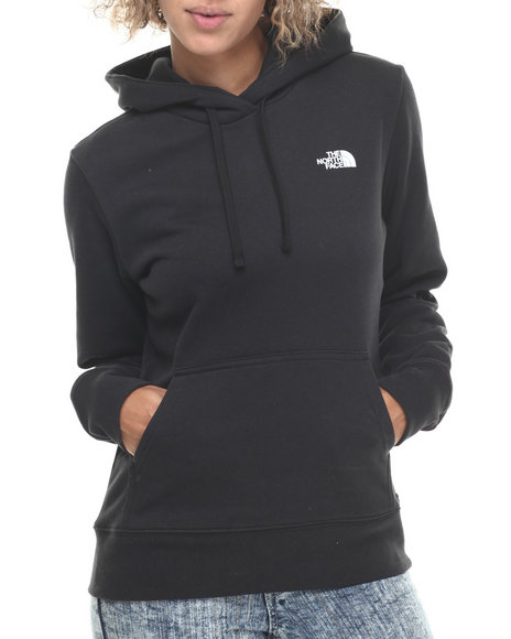 The North Face - Women Black Shadow Script Pullover Hoodie