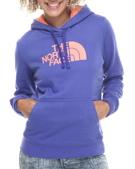 The North Face - Women Blue Half Dome Hoodie