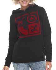 LRG - Box Icons Pullover Hoodie w/flocking