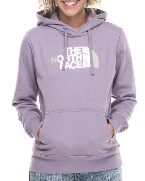 The North Face - Women Purple Half Dome Hoodie