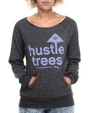 LRG - Hustle Trees Raw Crewneck Sweatshirt