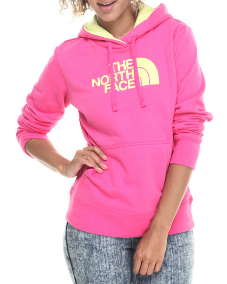The North Face - Women Pink Half Dome Hoodie