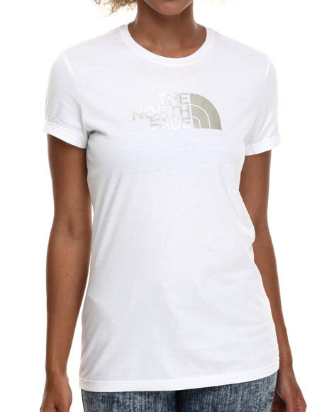 The North Face - Women White Short Sleeve Half Dome Tee