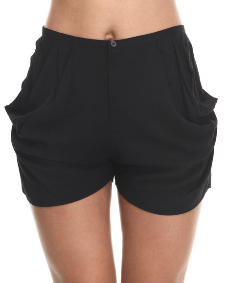 Djp Outlet Black Shorts