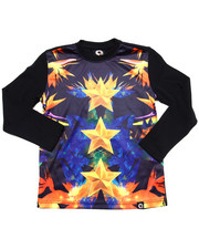 Boys - L/S STARS SUBLIMATION TEE (4-7)
