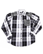 Boys - PLAID SHIRT (8-20)