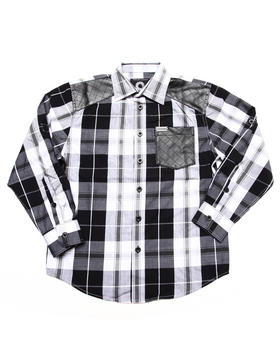 Akademiks - PLAID SHIRT (8-20)