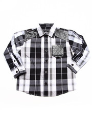 Boys - PLAID SHIRT (4-7)